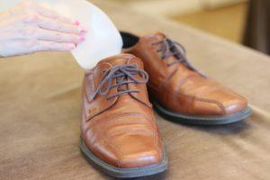 革靴にインソール