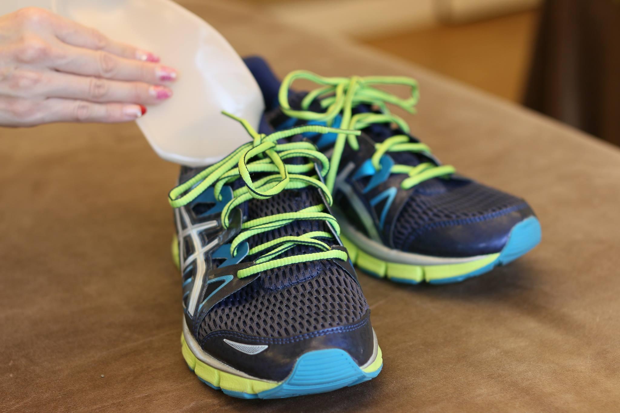 スポーツの靴にインソール